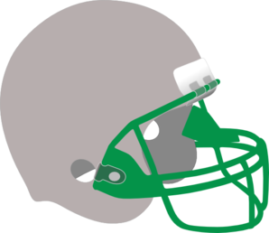 Silver And Green Helmet Clip Art
