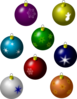 Christmas Ornaments Clip Art