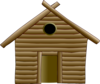 Wood Hut Clip Art