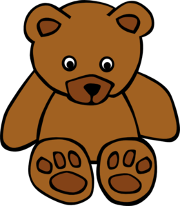 baby brown bear clip art at clker com vector clip art online rh clker com brown bear clipart free brown bear clipart free