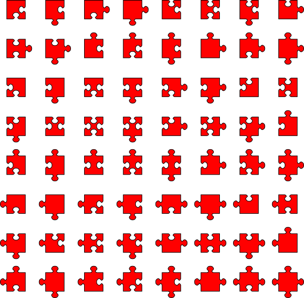 Jigsaw Puzzle Frame Clip Art at Clker.com - vector clip art online ...