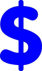 Dem. Dollar.sign Clip Art