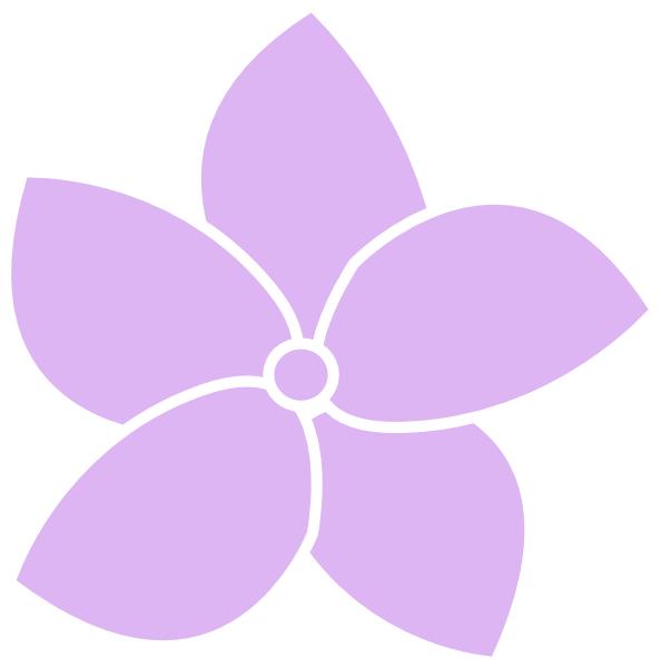 hydrangea flower purple clip art at clker com vector clip art rh clker com hydrangea clipart free hydrangea clipart png