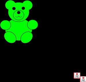 Green Bear Clip Art At Clker Com Vector Clip Art Online