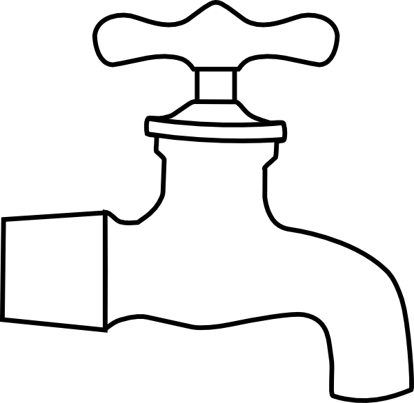 water faucet clip art at clker com