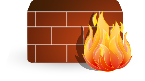 Firewall Symbol Clip Art at Clker.com - vector clip art ...