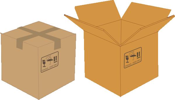 Box Clip Art at Clker.com - vector clip art online ...