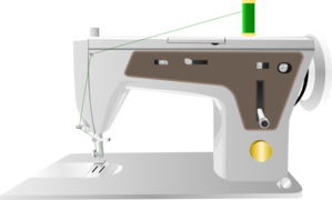 Sewing Machine Clip Art