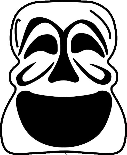 Mask Clip Art At Clker Com Vector Clip Art Online