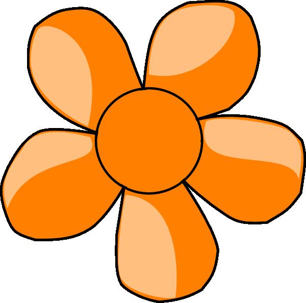 orange flower clip art at clker com vector clip art online rh clker com orange clipart png orange clipart balloon