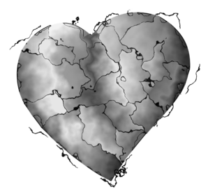 Steel Heart Clip Art