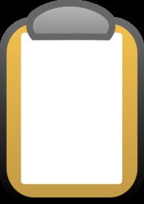 Notepad Clip Art