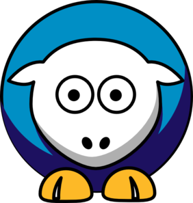 Sheep New Orleans Hornets Team Colors Clip Art