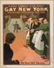 Gay New York A Real Comedy With Music : The Biggest Success Of The Year.  Clip Art