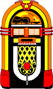 Nostalgic Jukebox Clip Art