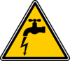 Danger Electric Leakage Clip Art