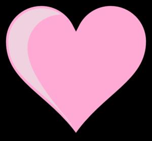 pink heart clip art at clker com vector clip art online royalty rh clker com pink heart pictures clip art small pink heart clip art