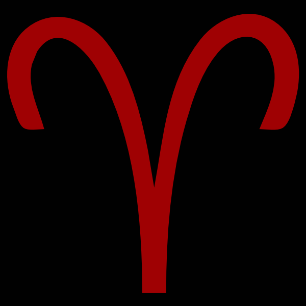 ... Clker.com - vector clip art online, royalty ... Aries Symbol Homestuck
