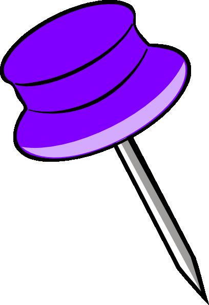pin purple clip art at clker com vector clip art online royalty rh clker com bowling pin clipart pin clipart png