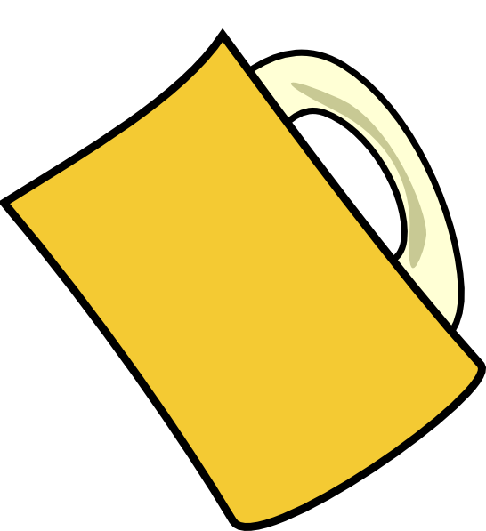 Beer Mug Froth Clip Art at Clker.com - vector clip art online, royalty ...