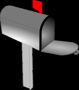 Empty Mailbox Clip Art at Clker.com - vector clip art online, royalty ...