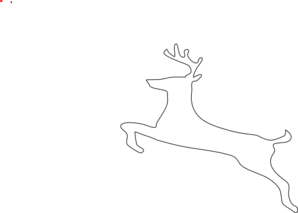"""... """"Rudolph The Red Nosed Reindeer Head Outline"""" – Calendar 2015"""