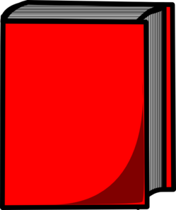Red Book Clip Art