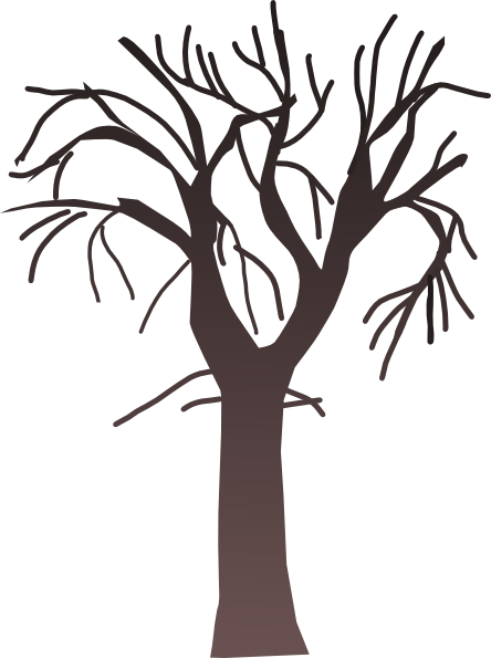 tree bare clip art at clker com vector clip art online royalty rh clker com bare tree clipart free bare tree clipart free
