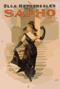 Olga Nethersole S Version Of Sapho By Clyde Fitch. Clip Art