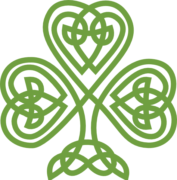 Celtic Shamrock Clip Art at Clker.com - vector clip art online ...