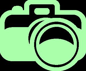 Green Camera For Photography Logo Clip Art At Clker Com Vector Clip Art Online Royalty Free Public Domain