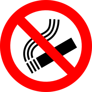 no smoking sign clip art at clker com vector clip art online rh clker com no smoking clip art images no smoking clip art free