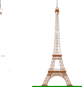 La Tour Eiffel (eiffel Tower) Clip Art