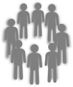 Population Grey Group Clip Art