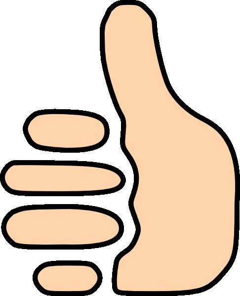 Thumbs Up Symbol Clip Art at Clker.com - vector clip art ...