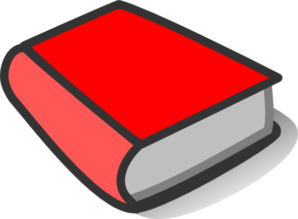 Red Book Reading Clip Art at Clker.com - vector clip art online ...
