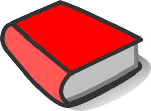 Red Book Reading Clip Art