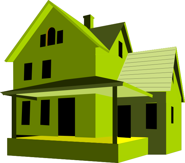 House 37 clip art at vector clip art online for Home img