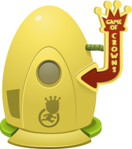 Crown Game Teleporter Clip Art