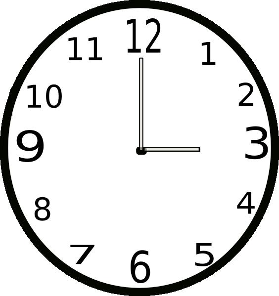 clipart 8 o'clock - photo #35
