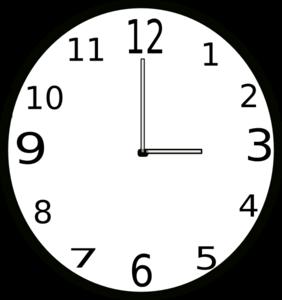 Clipart Clock 62 on Bug 2 Worksheet
