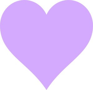 Light Purple Heart Clip Art at Clker.com - vector clip art ...