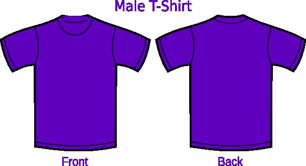 purple t shirt clip art - photo #13