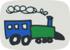 Hand Drawn Train Clip Art