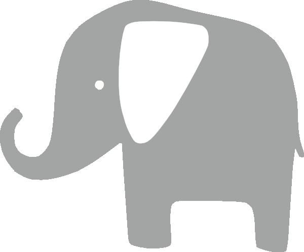 gray elephant free clip art - photo #2