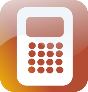 Calculator Icon Clip Art