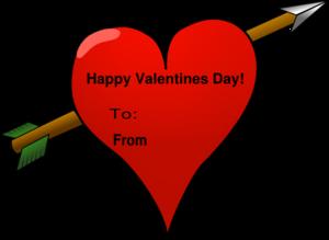 Valentine Card Clip Art at Clkercom  vector clip art online