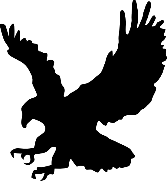 eagle hunting clip art at clker     vector clip art online royalty