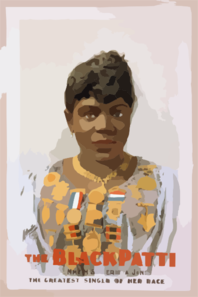 The Black Patti, Mme. M. Sissieretta Jones The Greatest Singer Of Her Race. Clip Art