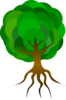 Simple Tree 1 Clip Art